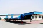 驼山17米28吨3轴低平板半挂车(WFG9400TDP)