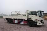 东风日产柴国二后双桥,后八轮载货车344马力15吨(DND1251CWB459S1)