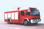 银河牌BX5150GXFSG60W型水罐消防车图片