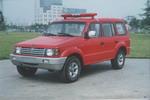 海潮牌BXF5033TXFBP20型泵浦消防车