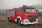 海潮牌BXF5190GXFPM80型泡沫消防车