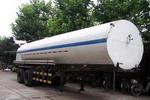 地球牌SHJ9270GDY型低温液体运输半挂车