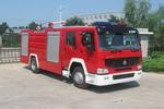 中卓时代牌ZXF5190GXFPM80型泡沫消防车图片