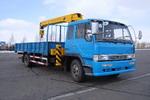 春圆牌DCY5160JSQ型随车起重运输车