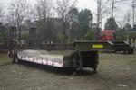 川路牌CGC9310TDP型低平板半挂车