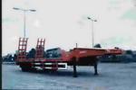 驰乐牌SGZ9190TGJ-G型工程机械运输半挂车图片