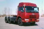 解放后双桥,后八轮6X4平头柴油半挂牵引车280马力(CA4252P21K2T1)