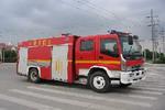 海潮牌BXF5150GXFSG50型水罐消防车