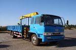 春圆牌DCY5120JSQB型随车起重运输车