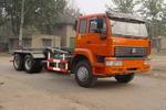 绿叶牌JYJ5252ZXY型车厢可卸式压缩垃圾车图片