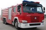 海盾牌JDX5300GXFPM150型泡沫消防车