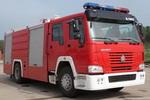 海盾牌JDX5190GXFPM80型泡沫消防车