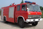 海盾牌JDX5140GXFSG55型水罐消防车