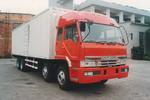柳特神力牌LZT5310XXYP21K2L7T4A91型平头8X4厢式运输车图片