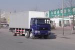 中国重汽国二前四后四厢式运输车180-190马力5吨以下(ZZ5161XXYG52C5W)