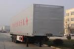 万事达牌CSQ9320XXYK型翼开启式厢式运输半挂车图片