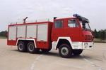 海潮牌BXF5210GXFSG80型水罐消防车