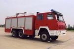 海潮牌BXF5210GXFPM80型泡沫消防车