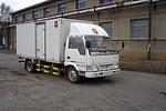 金杯国三单桥厢式运输车103马力5吨以下(SY5040XXYD-V1)