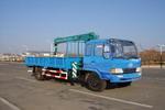 春圆牌DCY5140JSQ型随车起重运输车