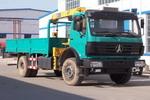 卡瑞特牌GYC5160JSQ型随车起重运输车