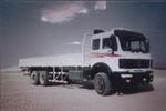 北方奔驰国二后双桥,后八轮货车280马力13吨(ND1250W282SJ)