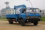 独霸牌GYJ5131JSQ型随车起重运输车图片