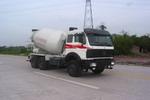 北方奔驰牌ND5250GJBZ型混凝土搅拌运输车图片
