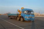 解放牌CA5210JSQA70型6X2随车起重运输车图片