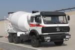 北方奔驰牌ND5258GJBZ型混凝土搅拌运输车图片