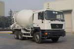 万荣牌CWR5254GJBSX型混凝土搅拌运输车