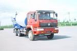 万荣牌CWR5251GJBZN38W型混凝土搅拌运输车