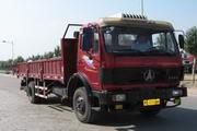 北方奔驰国三单桥货车180马力8吨(ND1160A41)