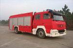 海潮牌BXF5191GXFSG80型水罐消防车