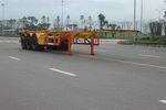 红岩牌CQZ9391TJZ型集装箱运输半挂车图片