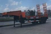 华威驰乐牌SGZ9260TGJ-G型工程机械运输半挂车图片