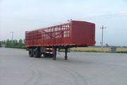 冀川骆驼牌JCT9310CLX型仓栅式半挂运输车图片