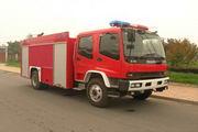 海潮牌BXF5152GXFSG50型水罐消防车