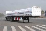 宝环13米4.2吨3轴易燃气体罐式运输半挂车(HDS9401GRQ)