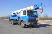 华美牌LHM5250TCS型测试井架车图片