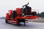 四机牌SJX9280TSN30型固井水泥半挂车图片