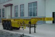 万荣牌CWR9400TJZG型骨架式集装箱运输半挂车