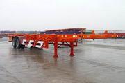 华骏牌ZCZ9353TJZ型集装箱运输半挂车图片