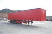 中集牌ZJV9286XXY型侧帘运输半挂车图片