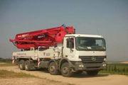 福田牌FHM5380THB型混凝土泵车