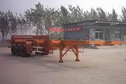 东岳牌ZTQ9400TJZ型集装箱半挂车图片