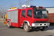 中卓时代牌ZXF5120TXFJY100型抢险救援消防车