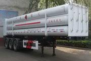 宝环牌HDS9400GGQ型高压气体长管半挂车图片