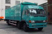 柳特神力牌LZT5202CXYPK2E3L10T3A95型平头仓栅式运输车