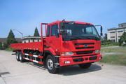东风日产柴国三后双桥,后八轮载货车344马力15吨(DND1253CWB459P)
